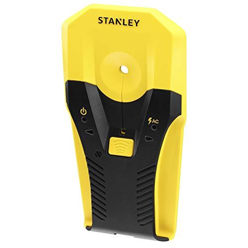 Stanley Materialdetektor S2 STHT77588-0 (für die Ortung von Holz, Metall und Wechselstrom, für eine Vielzahl von Anwendungen wie TV-Montage, Aufhängen von Regalen und Materialortung)