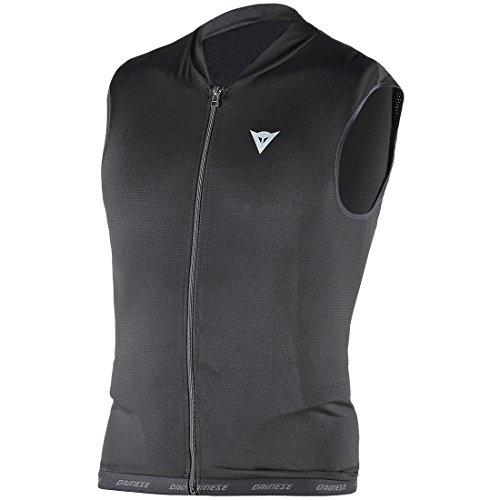 Dainese Erwachsene Protektor Waistcoat Flex Lite Man Ski, Schwarz, XL