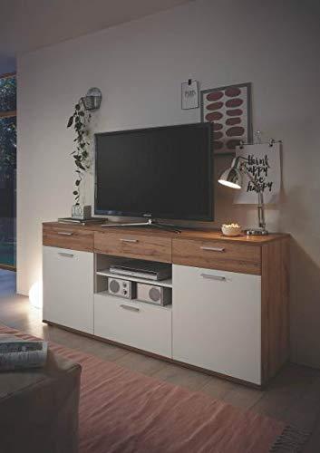 RASANTI Rsanti Backstage - Mueble para televisor (Madera de Roble), Color Blanco: Amazon.es: Hogar