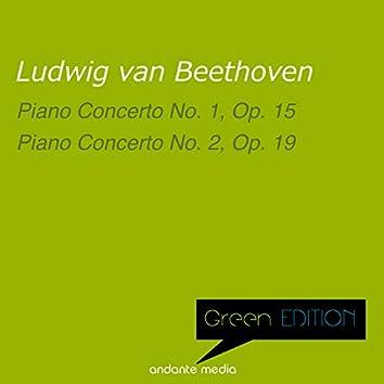 Green Edition - Beethoven: Piano Concerti Nos. 1 & 2