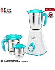Russell Hobbs LIVIA550-550 Watt Mixer Grinder with 3 Jars (