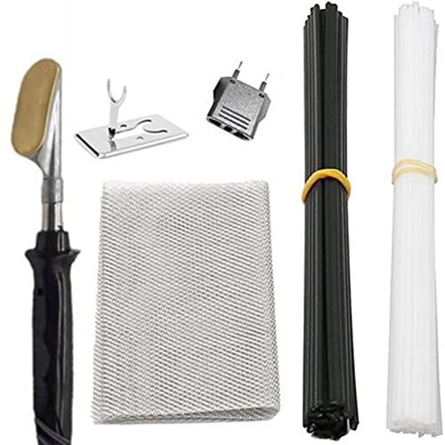 Kit de reparación de parachoques de coche de grapadora caliente Kit de reparación de grapas de plástico para reparación de grietas