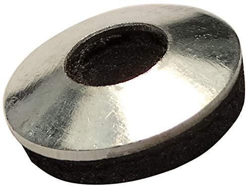AERZETIX - Set mit 20 Dichtscheiben mit Dichtung - Neopren - EPDM - Ø5,4x14mm - Metall - Für selbstbohrende Schrauben - DIY - C44479