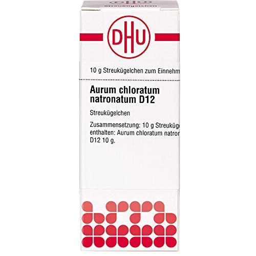 DHU Aurum chloratum natronatum D12 Streukügelchen, 10 g Globuli