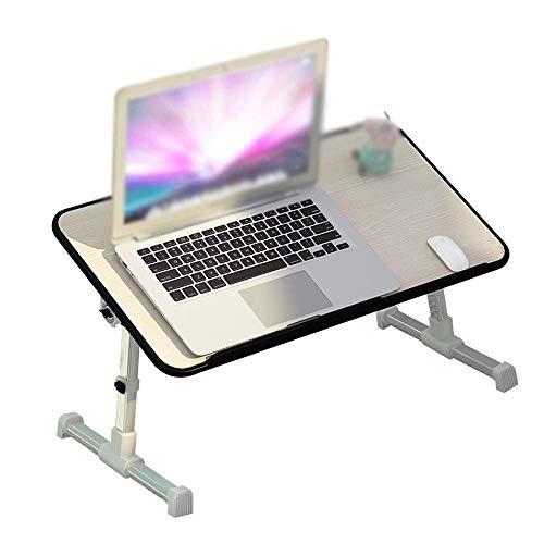 BINGFANG-W Tabla plegable del ordenador portátil Tabla altura ajustable escritorio de la computadora del ratón Soporte for cama mesita de noche Holder Notebook bandeja conveniente for el hogar, etc. m