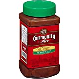 Community Coffee Café Special Decaf Medium Dark Roast Premium Instant 7 Oz Jar (4...
