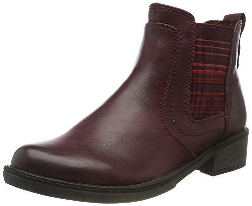 Tamaris Damen 1-1-25012-23 Chelsea Boots, Rot (Vine 558), 37 EU