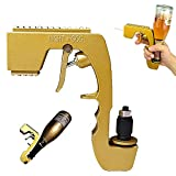 Pulverizador de pistola de champaña,Pistola de burbujas de calidad premium,Eyector de cerveza de botella para dispensador de cerveza de vino de fiesta,Boquilla de champán para fiesta Club Bar