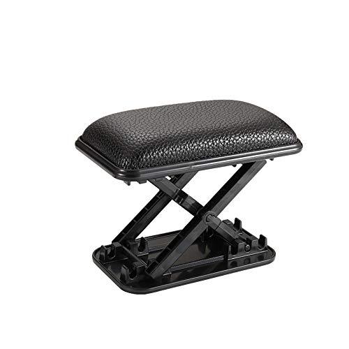 Mrcartool Universal Car Armrest Support, Adjustable Car Armrest Left Elbow Support Pads Relieve Driver's Arm Fatigue, Armrest Portable Increase Pad Armrest Cushion Black