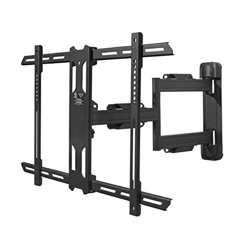 "Kanto PS350 Full Motion Articulating TV Wall Mount for 37-inch to 60-inch TVs | Low Profile & 22"" Extension 