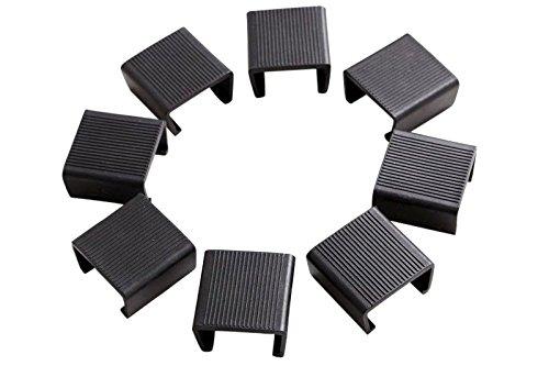 OUTFLEXX Verbindungselemente für Modulelemente, insgesamt 8 Stück Möbel sicher und fest miteinander verbinden zu können