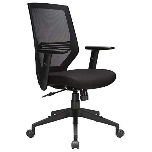Novigami Bürostuhl Lokai | Netz-Rückenlehne | verstellbare Lendenwirbelstütze und Armlehnen | ergonomischer Bürostuhl Bürostuhl Fernsehstuhl