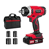 "20V MAX Cordless Impact Wrench with 1/2"" Chuck,..."