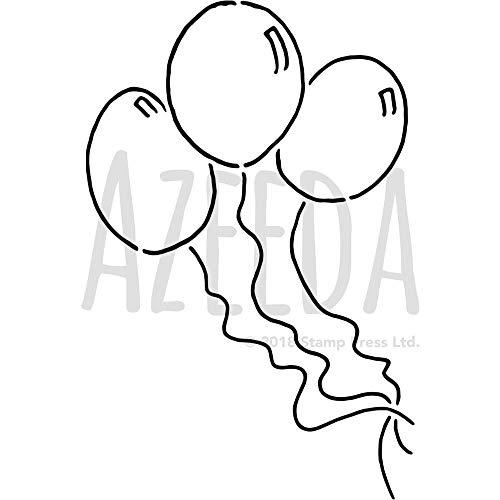 Azeeda A3 'Luftballons' Wandschablone / Vorlage (WS00009180)