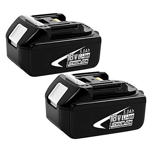 classement un comparer [2 pack]Batterie Lithium-ion TenHutt BL1850 18V 5.0Ah pour Makita BL1850B BL1850BL1840…