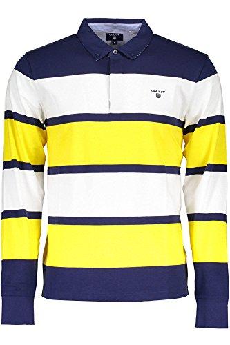 GANT 1701.215110 Polo shirt long sleeves Men GIALLO 718 M