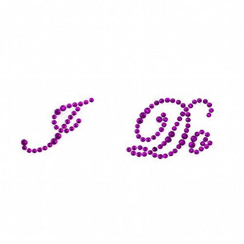 Sweet Tesoro® I Do Morado Diamantes de imitación Boda Zapatos Pegatinas Apliques...