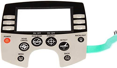 Detección de innovaciones Minelab Explorer reemplazo panel de control/placa frontal