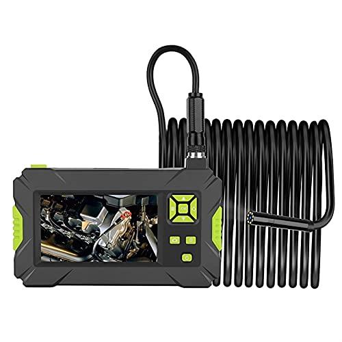 Kettles Endoscopio Industriale 1080P HD Digitale Fotocamera borescope, 4,3 Schermo LCD 8mm 2.0MP Fotocamera Serpente, con 8 luci a LED Regolabili per Pulizia Domestico Industriale (Color : 5m)