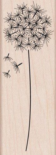 Hero Arts montierte Gummistempel, 3,81 x 9,5cm, Pusteblume