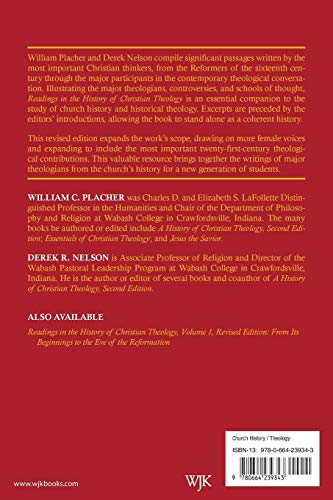 Readings in the History of Christian Theology, Volume 2, Revised Edition
