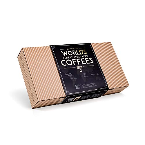 Original Gourmet Coffee Gift Set for Men & Women – 10 of The World's Finest Single Estate Specialty & Organic Coffees | Brew & Enjoy Anytime, Anywhere | Hamper Style Letterbox Gift Idea for Him & Her