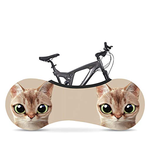 Cubierta de ruedas de bicicleta Interior universal Cubierta protectora de bicicleta de carretera Mtb A prueba de rayones Bolsa de almacenamiento Mantiene limpios los pisos y las paredes de su hogar