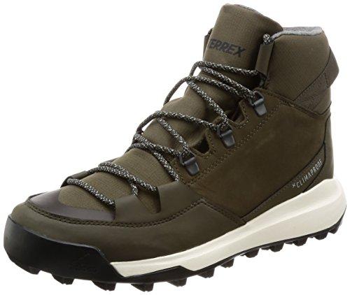 adidas Herren Terrex Winterpitch Cw Cp Trekking-& Wanderstiefel, Tiesom schwarz Marsim, 44 2/3 EU