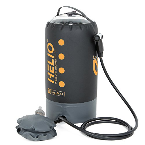 Why Choose Nemo Helio Portable Pressure Shower with Foot Pump, Sunset