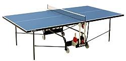 Sponeta Outdoor Tischtennisplatte Sportline in blau für draußen