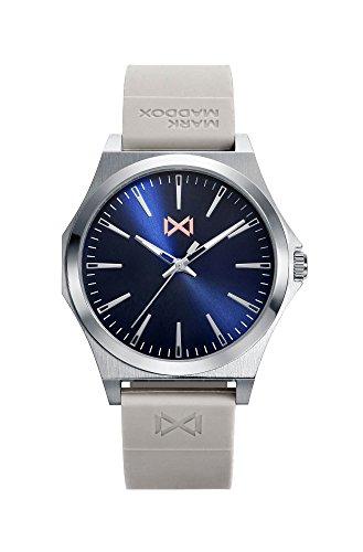 Mark Maddox Reloj Analógico para Hombre de Cuarzo con Correa en Silicona HC7109-37
