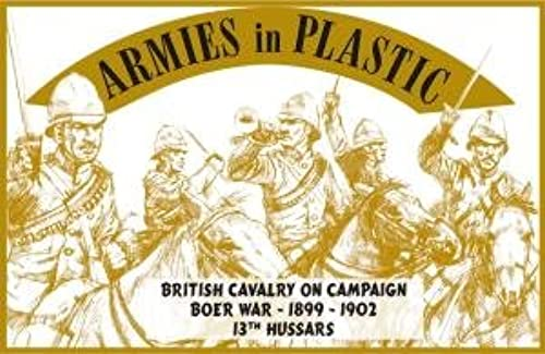 1 32 Armies in Plastic 5528 Kolonialkriege Briten Kavallerie in Aktion