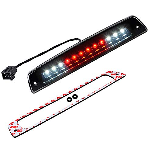 Third Brake Light LED 3rd Rear High Mount Tail Stop Cargo Lamp Compatible with 1994-2001 Dodge Ram 1500 2500 3500 Pickup