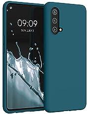kwmobile telefoonhoesje compatibel met OnePlus Nord CE 5G - Hoesje voor smartphone in petrol
