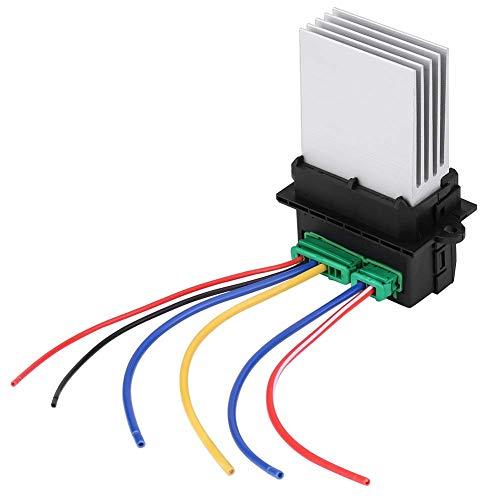 Resistencia del motor del soplador, resistencia del ventilador del soplador del motor del calentador con mazo de cables para 6441L2