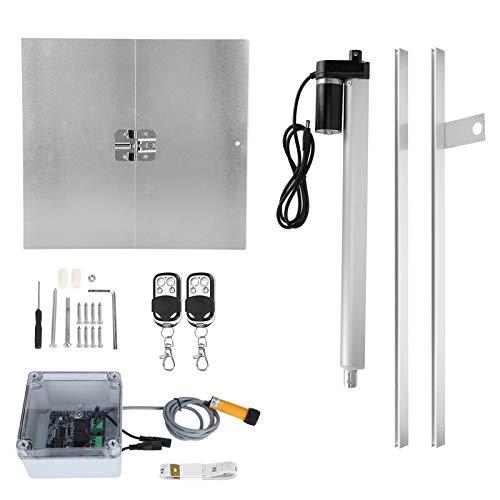Porte de Garde de Poulet, ouvre-Porte de poulailler à Induction à synchronisation Automatique Plug and Play, kit(European regulations)