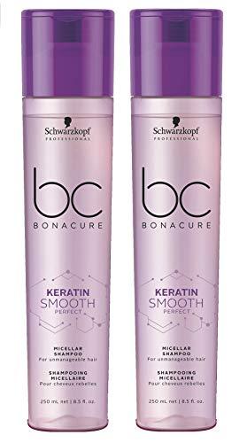 Schwarzkopf Professional BC Bonacure Keratin Smooth Perfect Micellar Shampoo - 250ml - Champú Micelar