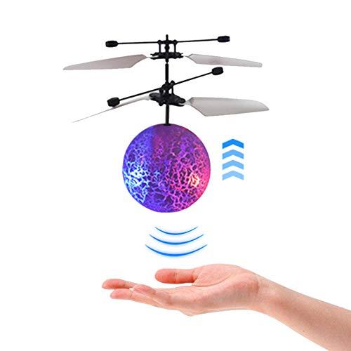 LICHENGTAI Fliegender Ball, Fliegende Fee, RC Flying Ball Spielzeug, Fliegender Ball Für Kinder, Leuchtender Fliegender Ball, LED Fliegender Ball Geschenke Für Kinder Erwachsene