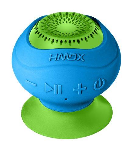 HMDX HX-P120BL HoMedics Neutron Wireless Suction Speaker Blue