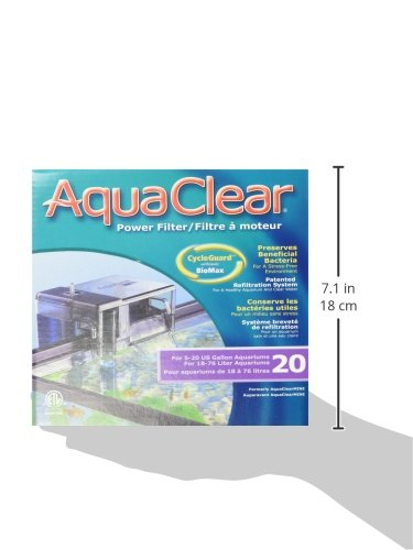 AquaClear 20 Power Filter - 3