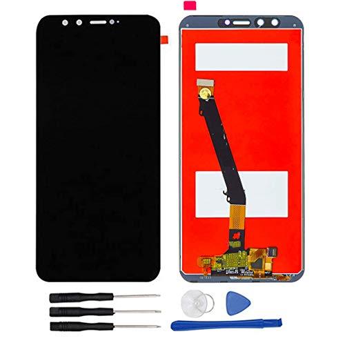 Soliocial Asamblea Pantalla LCD Pantalla Táctil Vidrio para Huawei Honor 9 Lite/Honor 9 Youth LLD-AL00 LLD-AL10 LLD-TL10 LLD-L31 Negro