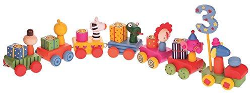 Fritz Cox Verjaardagskleding met cijfers van 0-9, kleine en grote kinderen; in een geschenkdoos; zo wordt het feest een succes