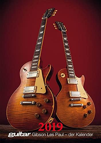 Guitar Gibson Les Paul - der Kalender 2019
