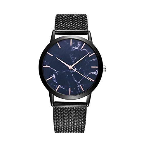 Women Silica Gel Mesh Belt Casual Watch Geneva Simple Mesh Belt Watch