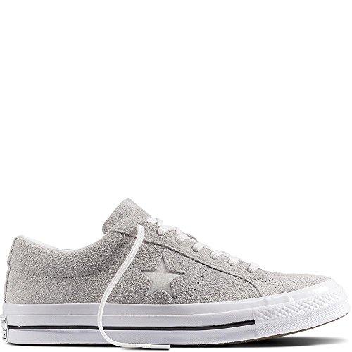 Converse Lifestyle One Star Ox Sneakers, Grau (Ash Grey/White/White 095), 36.5 EU