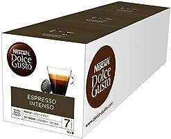 Nescafé Dolce Gusto Exclusivo Café Espresso Intenso, Pack de 3 x 16 Cápsulas - Total: 48 Cápsulas de Café