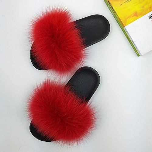 zapatillas de casa de mujer invierno,Anti-Fox, zapatillas de sandalia femenina, zapatos casuales de la playa antideslizante de la moda antideslizante, la palabra arrastre, usando un baño de natación-