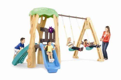 Little Tikes Tree House Swing Set Blue