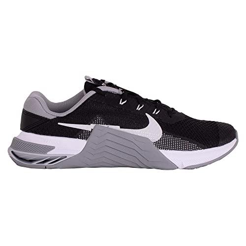 Nike Metcon 7, Zapatillas de ftbol Unisex Adulto, Negro, Gris y Blanco, 44.5 EU