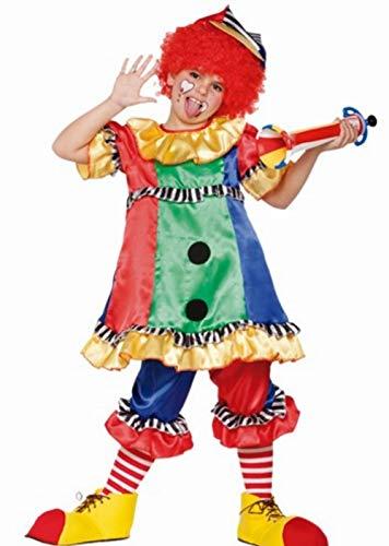 Fyasa 706352-t01 Clown Girl Costume de déguisement, Medium
